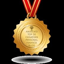 Honoured to be awarded Top 50 Personal Finance Blog!