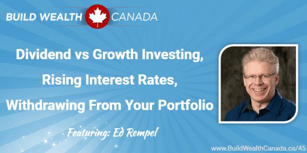 Listen to my new podcast – Dividend vs. Growth Investing, Rising Interest Rates and Retirement Income Withdrawal Strategies