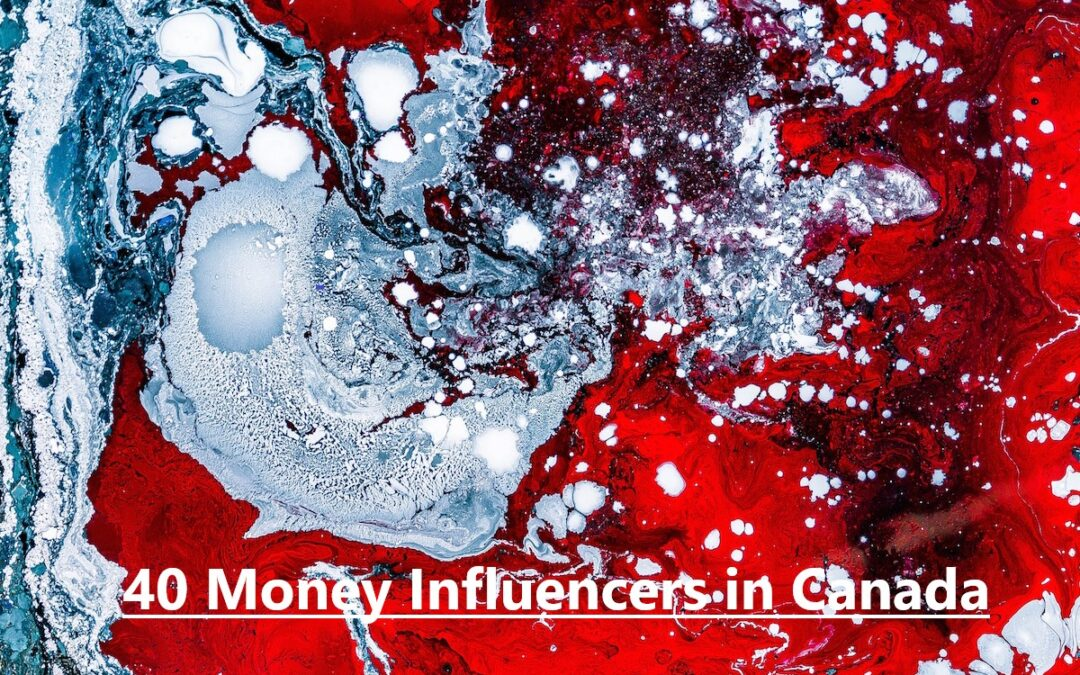 "Thrilled to be included in this elite list of ""40 Money Influencers in Canada""!"
