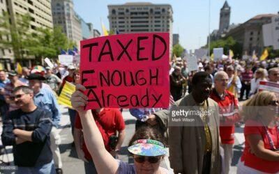 Has the tax revolt begun?
