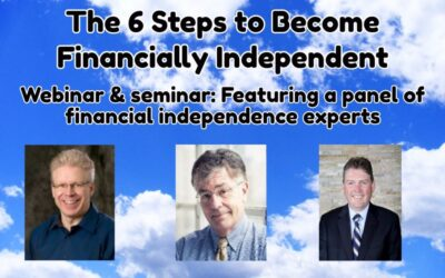 Seminar & Webinar – The 6 Steps to Become Financially Independent